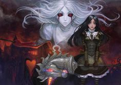American McGee's Alice - Alice in Wonderland - Zerochan Anime Image Board Alice Liddell, Dark Alice In Wonderland, Adventures In Wonderland, Alice Madness Returns, Lewis Carroll, Moe Anime, Anime Art, Majora Mask, Gothic