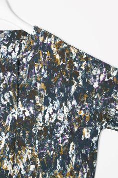 Printed jersey dress - COS w13