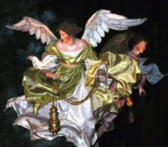 Annual Christmas Tree and Neapolitan Baroque Crèche at The Metropolitan Museum of Art - Female Angel with Censer
