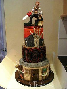 Evil dead cake