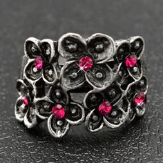 Paparazzi always carries the HOTTEST trend in rings, and they're ALWAYS only $5.00 each! The items below are not necessarily in my current inventory. Paparazzi sells out of items just as fast as they get them in, so if you see an item in my online store that you really like, you should grab it fast, because it won't be available for long! Visit my online store at www.LollyPopArazziShop.com. :)