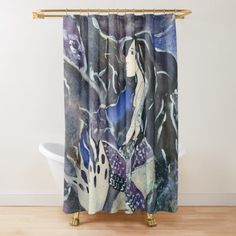 Niina Niskanen is an independent artist creating amazing designs for great products such as t-shirts, stickers, posters, and phone cases. Mermaid Shower Curtain, Shower Curtains, Mixed Media Photography, Artist Profile, Media Design, Sell Your Art, Art Drawings, Whimsical, Geek Stuff