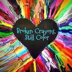 Image result for broken crayons still color