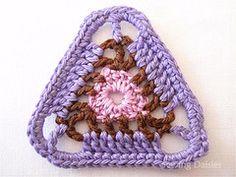 Very cool - triangle crochet