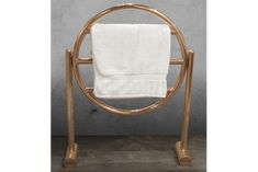 Circular Towel Hanger Copper