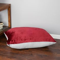 Shop for Oversized Plush Floor Pillow Cushion (28 x 36 inches). Free Shipping on orders over $45 at Overstock.com - Your Online Home Decor Outlet Store! Get 5% in rewards with Club O! - 16471790