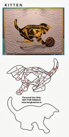 Irisvouwen: Kitten