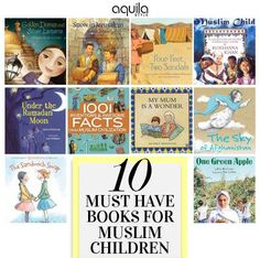 Have your children read these books yet? Compiled by Isra Hashmi of Simple Muslim Family.