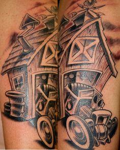 ... New School Tattoos , Cartoon Tattoos , Blackwork Tattoos , Car Tattoos - Stylendesigns.com!