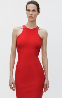 Zara little red dress