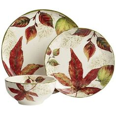 Asheville Dinnerware PIer One - Love this pattern for Thanksgiving - got one of the serving pieces
