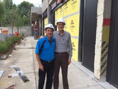 Howard with Rick Breman - Crescent visiting BINDERS at Ponce City Market