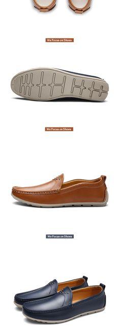Aliexpress.com: Comprar Prelesty Diseño Clásico Delicado Luxury Brand Hombres Mocasines Mocasines Casuales Para Hombre Pisos Alta Calidad Suave Conducción Zapatos Del Barco de shoes brand fiable proveedores en prelesty Footwear Store