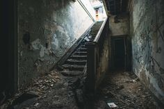 Beautiful Photos of Abandoned Buildings by Chris Walvoord #inspiration #photography