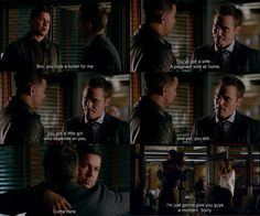 """Bro, you took a bullet for me"" - Esposito, Ryan and Kate #Castle"