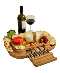 Look at this Malvern Deluxe Cheese Board on #zulily today!