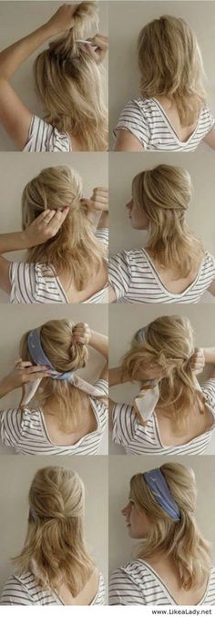 Scarf for hair
