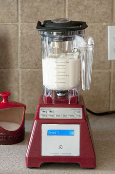 How have I not thought of this: Making butter in a @Blendec Blender via @dineanddish.net