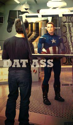 Tony Stark and Captain Steve