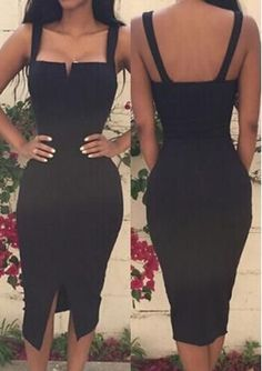 Black Satin Homecoming Dress , Open Back Homecoming Dress The Dress Bridal Sexy Dresses, Dress Outfits, Nice Dresses, Casual Dresses, Fashion Dresses, Beach Dresses, Stylish Dresses, Summer Dresses, Classy Outfits