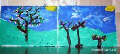 Plastercine Art - Barbara Reid style! Kindergarten Inquiry, Art For Kids, Crafts For Kids, Art School, School Ideas, Spring Art, Art Education, Activities For Kids, Art Projects