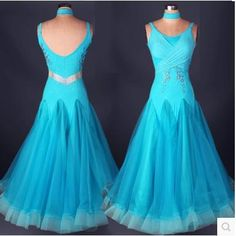 Cheap dance dress for men, Buy Quality dance bra directly from China dress bubble Suppliers: Ballroom dance costume sexy senior diamond spandex Sleeveless ballroom dance dress for women ballroom dance competition dresses Modern Dance Costume, Costume Sexy, Dance Costumes, Led Costume, Ballroom Costumes, Halloween Costumes, Blue Flower Dress, Flower Dresses, Blue Dresses