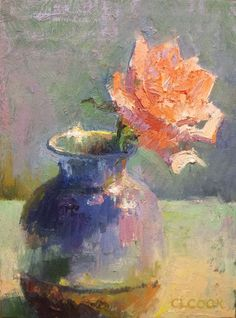 Poetic Lasting Impression by Christopher Cook - A rose that will last forever... I captured a moment of poetic beauty inspired by a single rose. Now in the eternal presence as fine art
