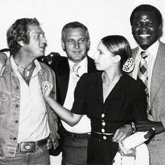 Almost too much coolness to bear: 1969, McQueen, Newman, Streisand, Poitier.