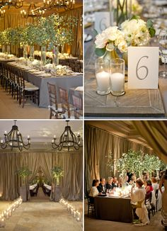 Chic and Elegant #Wedding #Reception Ideas. To see more: http://www.modwedding.com/2013/11/11/chic-elegant-wedding-reception-ideas/ #weddingcenterpiece ideas.