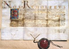 Patent of Nobility with Coat-of-Arms (1587)