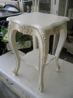 French side table $299.