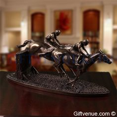Genesis Over The Last Horse Sculpture Horse Sculpture, Retirement Gifts, Top Gifts, Wedding Gifts, Wedding Day Gifts, Wedding Favors, Marriage Gifts