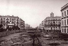 Avenida de las Cortes Catalanas - Avinguda de las Corts Catalanes - Gran Vía - La Barcelona de antes