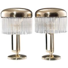 1stdibs | A rare pair of Jugendstil Table Lamps, Vienna around 1905, Vienna Secession