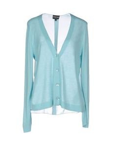 EMPORIO ARMANI Cardigan. #emporioarmani #cloth #dress #top #skirt #pant #coat #jacket #jecket #beachwear #