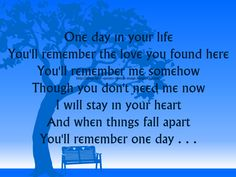 that day is finally here quotes   ... HD, Life Quotes One Day In Your Michael Jackson Song Lyric Quote