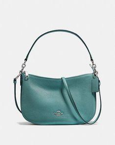 5cc38e3e64 Coach Chelsea Crossbody You Bag, Pebbled Leather, Chelsea, Crossbody Bag,  Purses,