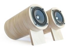 Corgi Speakers, Set of 2 - modern - Home Electronics - Give 5 To Cancer Mini Bluetooth Speaker, Sound Speaker, Diy Speakers, Bookshelf Speakers, Music Speakers, Modern Home Electronics, Speaker Plans, Speaker Design, Hifi Audio