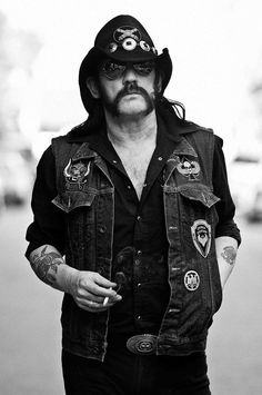 If they drop a nuclear bomb on this planet, the only things left would be cockroaches…and Lemmy.