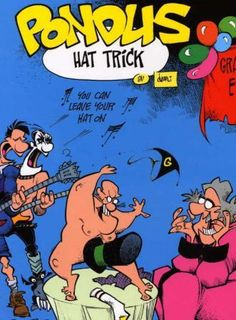 Detaljer for Pondus bok 2003 (Hat trick) Comic Books, Comics, Reading, Hats, Hat, Word Reading, Comic Book, Comic Book, Reading Books