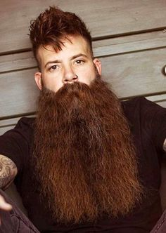49 Most Popular Moustache Style For All Mens Faces Moustache, Beard No Mustache, Grey Beards, Long Beards, Long Beard Styles, Brown Beard, Redhead Men, Epic Beard, Ginger Beard