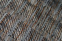 Handwoven and hand-dyed silk - detail of scarf - Laura Adburgham