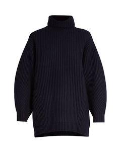 ACNE STUDIOS Isa Oversized Wool Sweater. #acnestudios #cloth #sweater