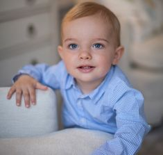 Happy birthday Prince Nicolas! To mark the royal's first birthday, Swedish Royal Court has released a new official photo. Prince Nicolas of Sweden, Duke of Ångermanland is only son of Princess Madeleine and Christopher O'Neill. Prince Nicolas was born at Danderyd Hospital on June 15, 2015 in Sweden. (Photo Brigitte Grenfeldt, The Royal Court)