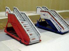 British Airways Ramp Free Paper Model Download