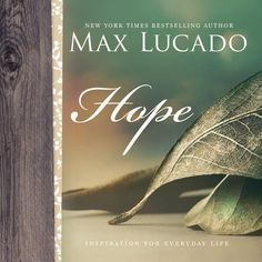 Max's most encouraging words of hope and comfort are collected into one volume and enhanced with beautiful, full-color photography. This everyday reminder adds peace and joy to ordinary days, pain-filled days, and even the best days.