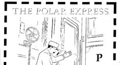 Polar Express Coloring Pages Movies and TV Show Coloring