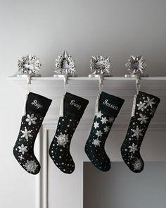 Green Velvet Stockings at Neiman Marcus.