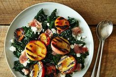 Grilled Peach and Apricot Salad Recipe on Food52 recipe on Food52