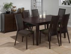 Ryder Ash Dining Table - Roy's Furniture